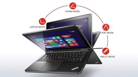 "LENOVO YOGA I5-4200U, 12.5"" HD, 128G SSD, 4GB RAM, HD4400 W8.1(PRO)64, 1YR, 20CD0018AU"