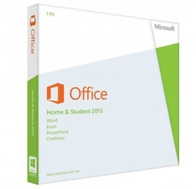 Microsoft Office Home Student 2013 32-bit/x64 Eng DM DVD [79G-03767]