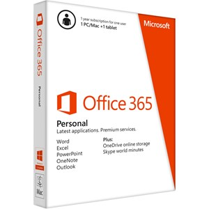 Office 365 Personal, 32-bit/x64, English, Subscr 1YR APAC DM Medialess,QQ2-00035