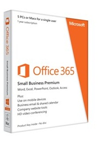 Microsoft Office 365, Small Business premium, AAA-04580