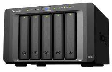 "Synology DiskStation, [29DS1513+] 5-Bay 3.5"" Diskless 2xGbE NAS (Tower) (SMB), Intel Atom 2.13GHz, 2GB RAM, 2xUSB3, 4xUSB3, eSATA, Scalable"