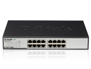D-Link DGS-1016D 16-Port Gigabit Desktop Switch GREEN ETHERNET