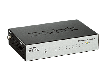 8-Port Gigabit Desktop Switch (Metal Housing)