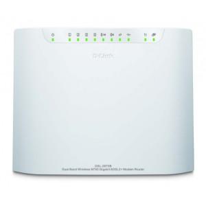 D-Link DSL-2870B Dual Band Wireless N750 Gigabit ADSL2+ Modem Router