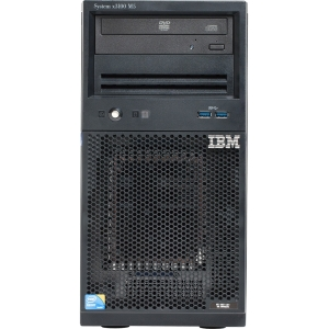 Express GBB x3100 M5 (base 5457B3M), Xeon 4C E3-1220v3 80W 3.1GHz/1600MHz/8MB, 1x8GB, 2x1TB, SS 3.5in SATA, SR C100, Multi-Burner, 350W p/s, Tower