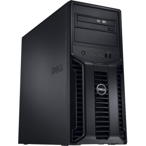 PE T110 II, E3-1220v2 3.1 2C (1/1), 1x4GB UDIMM 1600,1x500GB SATA 3.5 NHP (1/4), H200, 1YR ENBD