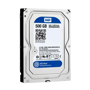 "WD BLUE,500GB,7200RPM,SATA3,16MB CACHE,3.5"",2YRS,WD5000AAKX"