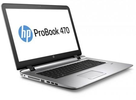 """HP 470 G3,T3Z14PT, I7-6500U 8GB, 1TB, 17.3"""" HD, DVDRW, WL, BT, WIN7PRO64, W10 PRO-LIC, 1 YR"""