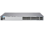 HP 2620-24-PPOE+ SWITCH, LAYER 2, 24 X 10/100 + 2 X GIG + 2X SFP PORTS, MANAGED, LIFE WTY, J9624A