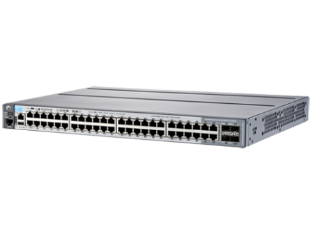 HP 2620-48-POE+ SWITCH, LAYER2, 48 X 10/100 + 2 X GIG + 2 XSFP PORTS, MANAGED, LIFE WTY, J9627A