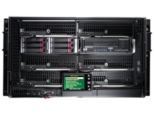 HP BLc3000 Platinum Enclosure with 4 AC Power