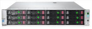 HPE DL380G9 E5-2609v3 (1/2), 8GB(1/12), SATA-2.5(0/8), B140I,NO CD, 2U, 3YR, 752686-B21