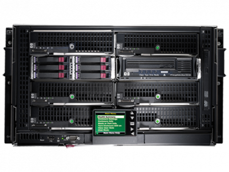 HPE BLc3000 Platinum Encl with4 AC PS 6 Fans ROHS 8 InsightControl Licenses, 696908-B21