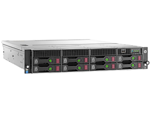 HPE DL80 G9 E5-2603V4 (1/2), 8GB (1/4),SATA-3.5 (0/8), B140I, NO CD, RACK, 1 YR, 840629-375