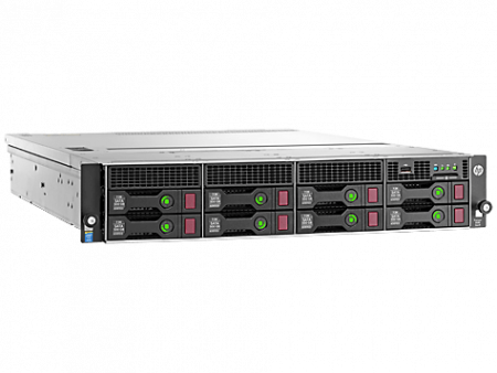 HPE DL80G9 E5-2603V3 (1/2), 8GB(1/4), SATA-3.5HP(0/8), B140I, NO CD, 2U, 1YR, 788152-375