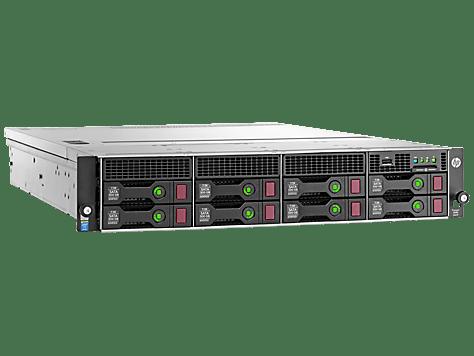 HPE DL80G9 E5-2603V3 (1/2), 8GB(1/4), SATA-3.5HP(0/8), B140I, NO CD, 2U, 1YR, 788152-375
