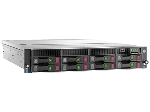 HPE DL80 G9 E5-2609V4 (1/2), 8GB (1/4), SAS/SATA-3.5 (0/8), H240, NO CD, RACK, 1 YR, 833869-B21