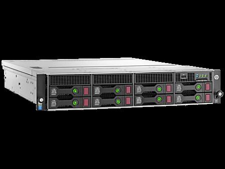 HPE DL80 G9 E5-2609V4 (1/2), 8GB (1/4), SAS/SATA-3.5 (0/8), H240, NO CD, RACK, 1 YR, 833869-B21