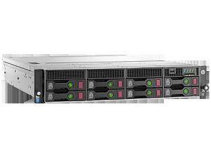 HPE DL80 G9 E5-2609V4 (1/2), 8GB (1/4), SATA-3.5 (0/8), B140I, NO CD, RACK, 1 YR, 840630-375