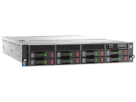 HPE DL180 G9 E5-2609V4 (1/2), 8GB (1/8), SAS/SATA-3.5 (0/8), H240, NO CD, RACK, 3 YR, 833972-B21