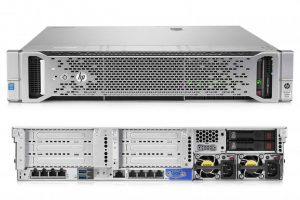 HPE DL360 G9 E5-2650V4 (2/2), 32GB (2/24), SAS/SATA-2.5 (0/8), P440AR, NO CD, RACK, 3 YR, 818209-B21