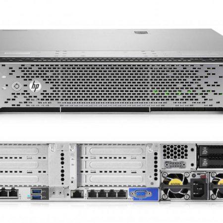HPE DL360G9 E5-2609v3(1/2), 16GB(1/12), 2 x 300GB SAS-HP-2.5(2/8), P440AR/2G, NOCD, 1U, 3Y, M7S12A