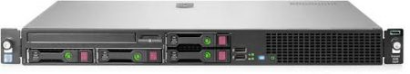 HPE DL20G9 E3-1220V5 (1/1), 8GB (1/4), SATA-2.5HP(0/4), B140i, NO CD, RACK, 1 YR, 830709-375