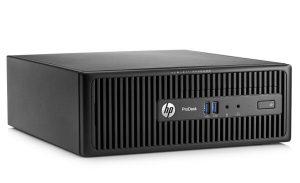 HP ProDesk 400 G3, (T9Z08PA), SFF I3-6100, 4GB, 500GB, DVDRW, W7P64, W10PRO-LIC, 1YR