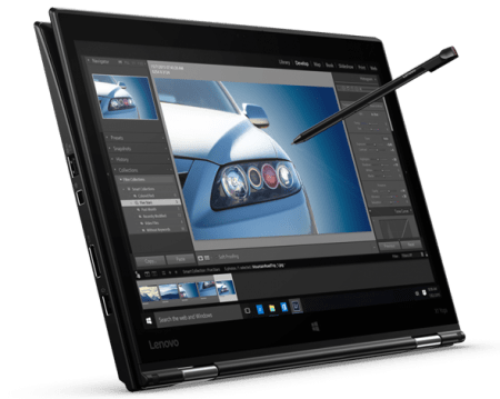 Lenovo yoga pen and write