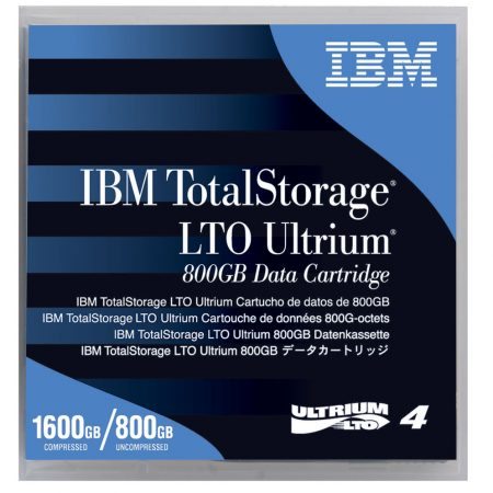 IBM LTO4-800GB/1.6TB DATA CARTRIDGE, 95P4436