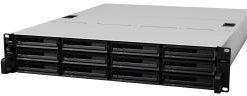"Synology RackStation RS2414+ 12-Bay 3.5"" Diskless 4xGbE NAS (2U Rack) (SMB), Intel Atom 2.13GHz, 2GB RAM, 2xUSB3, 2xUSB2, Scalable"