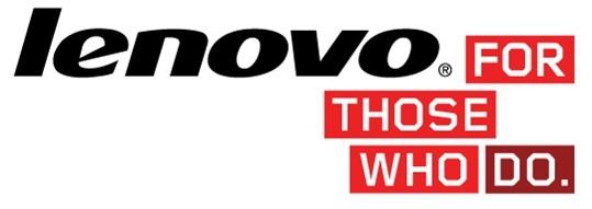 Lenovo Logo Top