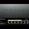 D-Link DGS-1008P 8-Port 10/100/1000 Gigabit Unmanaged Switch with POE