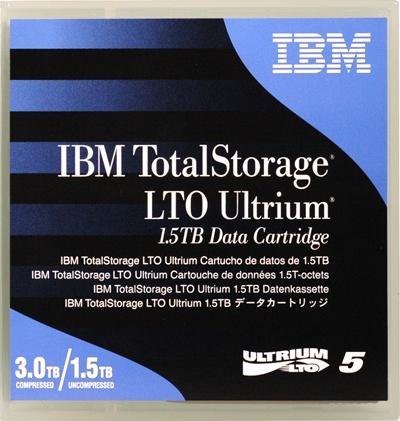 IBM LTO5- 1.5/3.0TB DATA CARTRIDGE, 46X1290