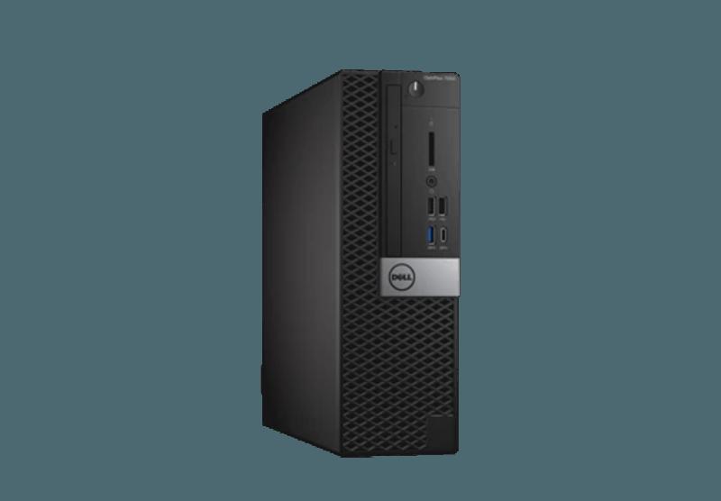 Dell Optiplex 7050 SFF, N031O7050SFFAU, i7-7700, 8GB, 256GB SSD, DVDRW,  NO-WL, W10P, 3YOS